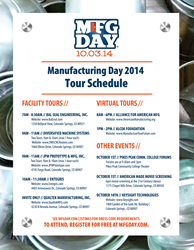 MFG Day 2014 in Colorado Springs, Colorado with DMS CNC Routers