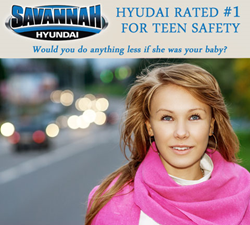 Hyundai Rated Top Safety Pick For Teens - Savannah Hyundai