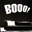 Booo Halloween Wall Decal