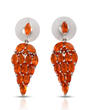 Jalisco Fire Opal Earrings