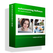 Latest ezAccounting Business Software Interfaces With Tax Applications From Halfpricesoft.com