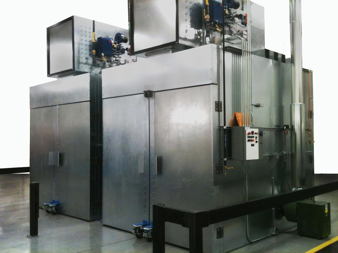 Announces launch of highly for Paint curing oven