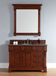 Brookfield 48″ Single Bathroom Vanity In Warm Cherry 147-114-5286 from James Martin Furniture