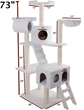 73″ Bungalow Sherpa Cat Tree 78899578023 By Majestic Pet Products