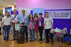 Tibet Vista Took Part in the First Sichuan International Travel Expo.