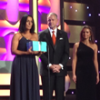 VCA's Eva DeCozio at 2014 Hero Dog Awards Gala receiving Hero Veterinarian Award