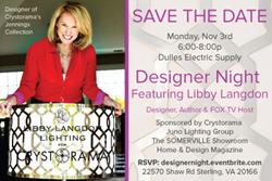 Designer Night with special guest Libby Langdon, Designer, Author & FOX TV host