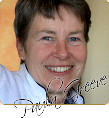 Paula Greeve, Raw Food Gourmet Chef & Instructor and a Nutrition Educator