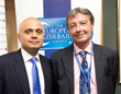 Conservative Minister Sajid Javid speaks at joint ConHome/TEAS reception