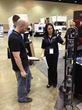 US Cargo Control's Tonya Kramer talks with Nathan Berns from TWO MEN AND A TRUCK® Iowa City, Iowa.