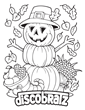 All Hallow's Eve Brings Another Coloring Page from the DiscoBratz