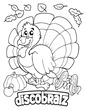 Gobble Gobble! Rejoice in Thanksgiving, with the DiscoBratz New Coloring Page