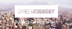 Kickstart your career with CareerFoundry