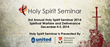 United Theological Seminary Presents 3rd Annual Holy Spirit Seminar