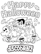 Boo! Get in Halloween Spirit with a New Coloring Page from DiscoBratz