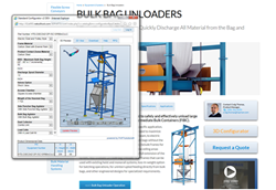 Hapman Launch Interactive Design Tool to Configure Bulk Bag Unloaders, Powered by CADENAS PARTsolutions