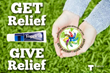 """With its """"Get Relief, Give Relief"""" initiative, Topical BioMedics pledges to donate a tube of Topricin to philanthropic pain clinics, worthy organizations, and others in need"""