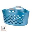 Rubbermaid® Flex'n Carry Laundry Basket - Pack of 6, $105.99