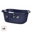 Large Rubbermaid Hip-Hugger® Laundry Basket, Pack of 6, $104.99