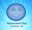 Connect with Appreciation Oct 1st. appreciationday.com