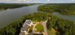 "Interluxe to Auction ""Paradise Harbor"" Lakefront Estate near Hickory"