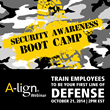 """A-lign to Present Webinar Entitled """"Security Awareness Boot Camp:..."""