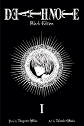 """Obata's smash hit, DEATH NOTE, released in a deluxe """"Black Edition"""""""
