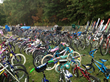 bikes at the rummage sale