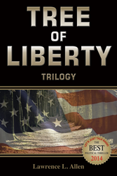 Political thrillers, Award Winning Books, Lawrence Allen, Tree of Liberty