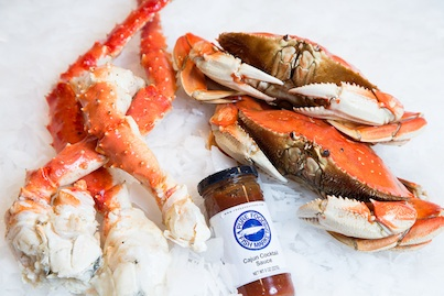 Give the gift of fresh seafood this holiday season for Pure food fish market