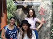 International Volunteers Doing Site-seeing Abroad in China