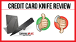 Credit Card Knife: Review Examining Survival Life's Product Released