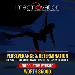 Win a Free Website contest by Imaginovation