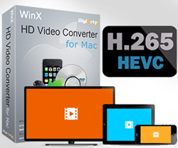 Mac HD Video Converter for H.265/HEVC