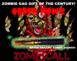 ZomBcall.com Announces Halloween Season Kickstarter Campaign To Launch September 30 2014 To Promote World's First Zombie Sound and Scare Device
