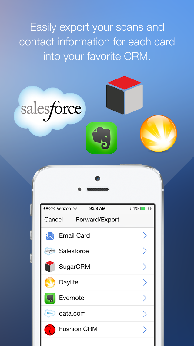 CircleBack Launches ScanBizCards Enterprise for Salesforce