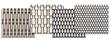 Cambridge Architectural's four classic, volume-stock metal mesh patterns for elevator interiors.