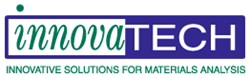 Logo for a materials analysis lab