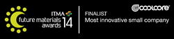 "Coolcore Nominated as Finalist in the ""Most Innovative Small Company"" Category for the ITMA Future Material Awards"