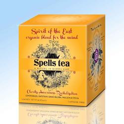 Spells Tea, Annie Finch, American Witch