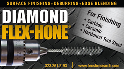 Diamond Hones for Surface Finishing Hard Materials
