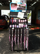 Pink Wiper Rack