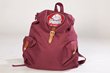 District Roots burgundy backpack