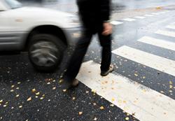 pedestrian accident sharing roadways