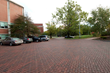 Hood House Drive with permeable interlocking concrete pavement at the center of the University of New Hampshire campus demonstrated runoff and pollution reduction performance in a cold climate.