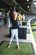 A new golfer at Topgolf