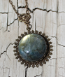 By the Light of the Moon Necklace from Belukro Jewelry, scheduled to be worn on Season 6, The Vampire Diaries.