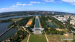 A webcam from Washington's highest point shows the Lincoln Memorial, WWII Memorial and more.