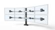 Innovative's new Bild multi-monitor mount can accomodate 2 to 16+ monitors.