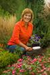 Melinda Myers in the garden.